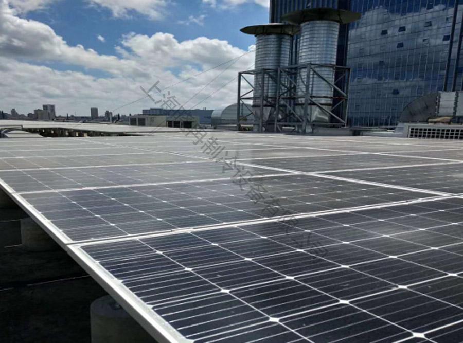 上海空间电源研究所格力中央空调+太阳能板项目