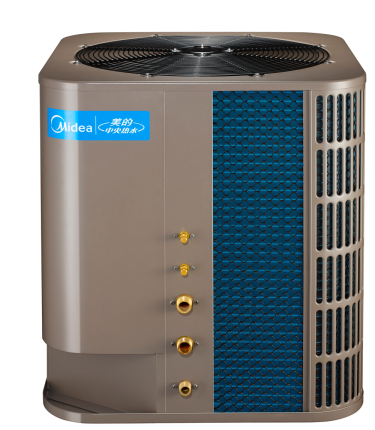 美的5HP商用空气能热水机